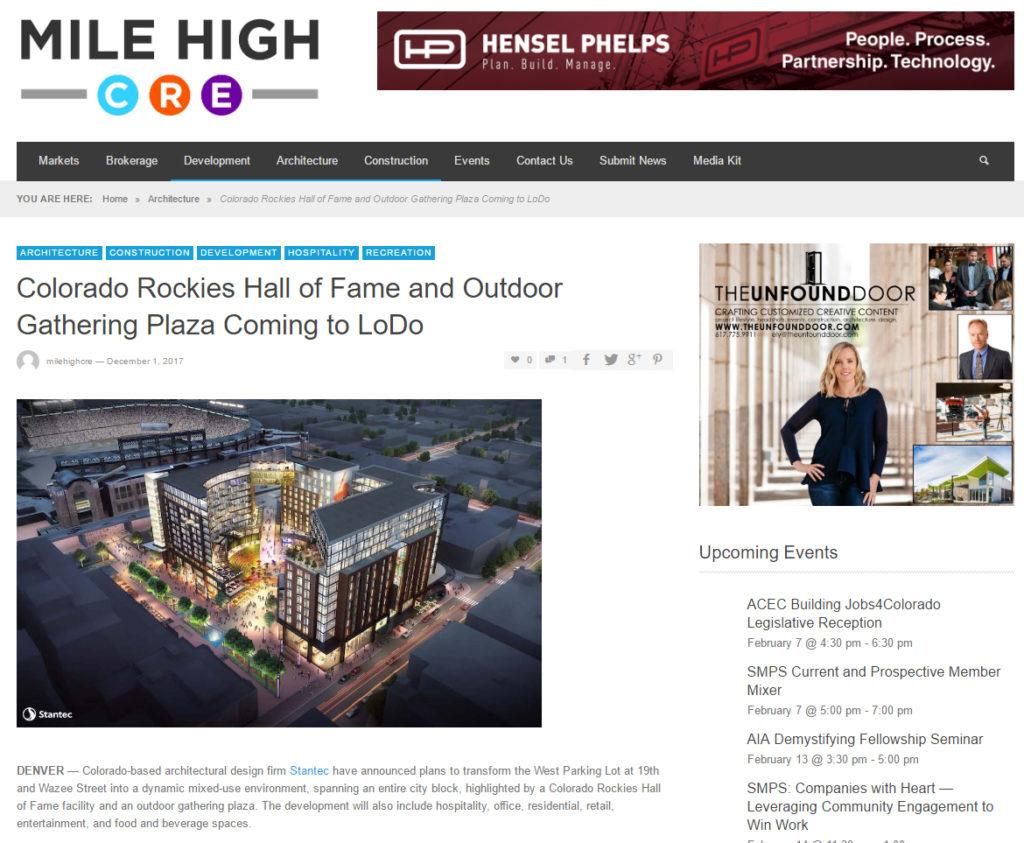 MileHighCRE-RockiesWestLot