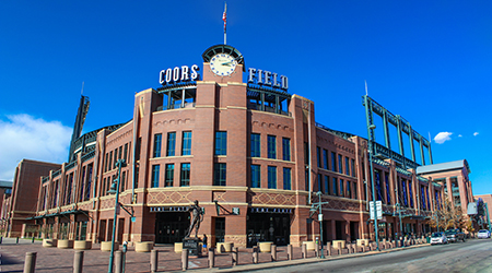 1995 | Coors Field Completed