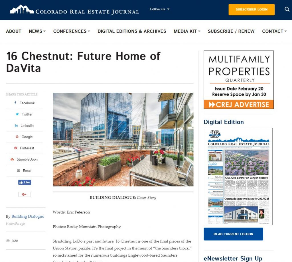 2018-12-10 12_11_43-16 Chestnut_ Future Home of DaVita - Colorado Real Estate Journal