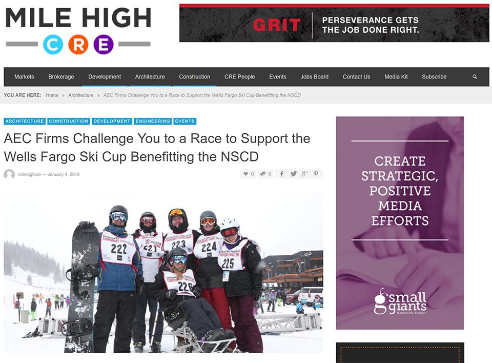 1-9-19 - MileHigh CRE Ski Race