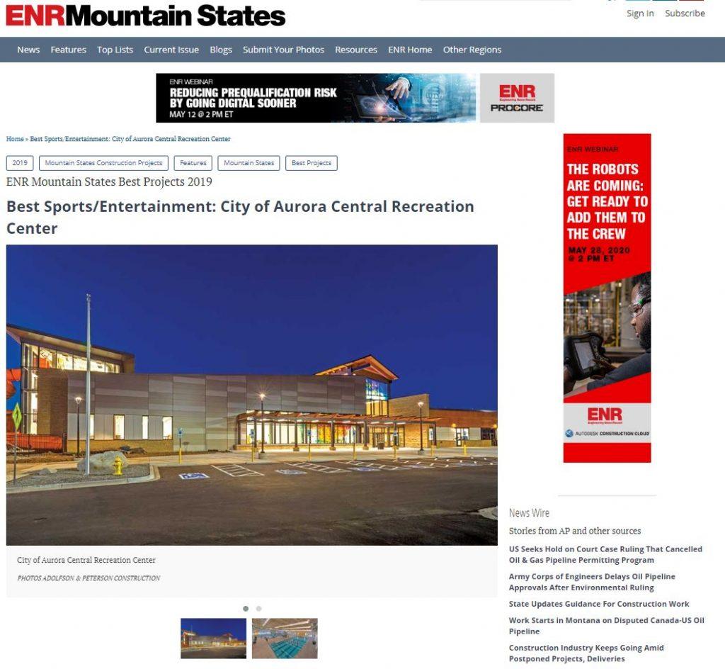 10-17-19 Best Sports_Entertainment_ City of Aurora Central Recreation Center