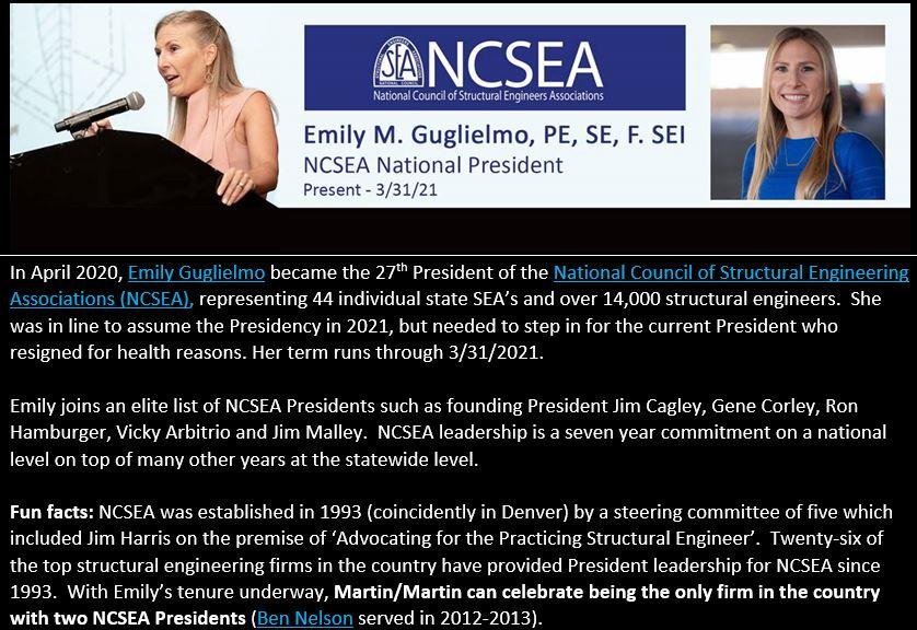 5-1-2020 Emily NCSEA President